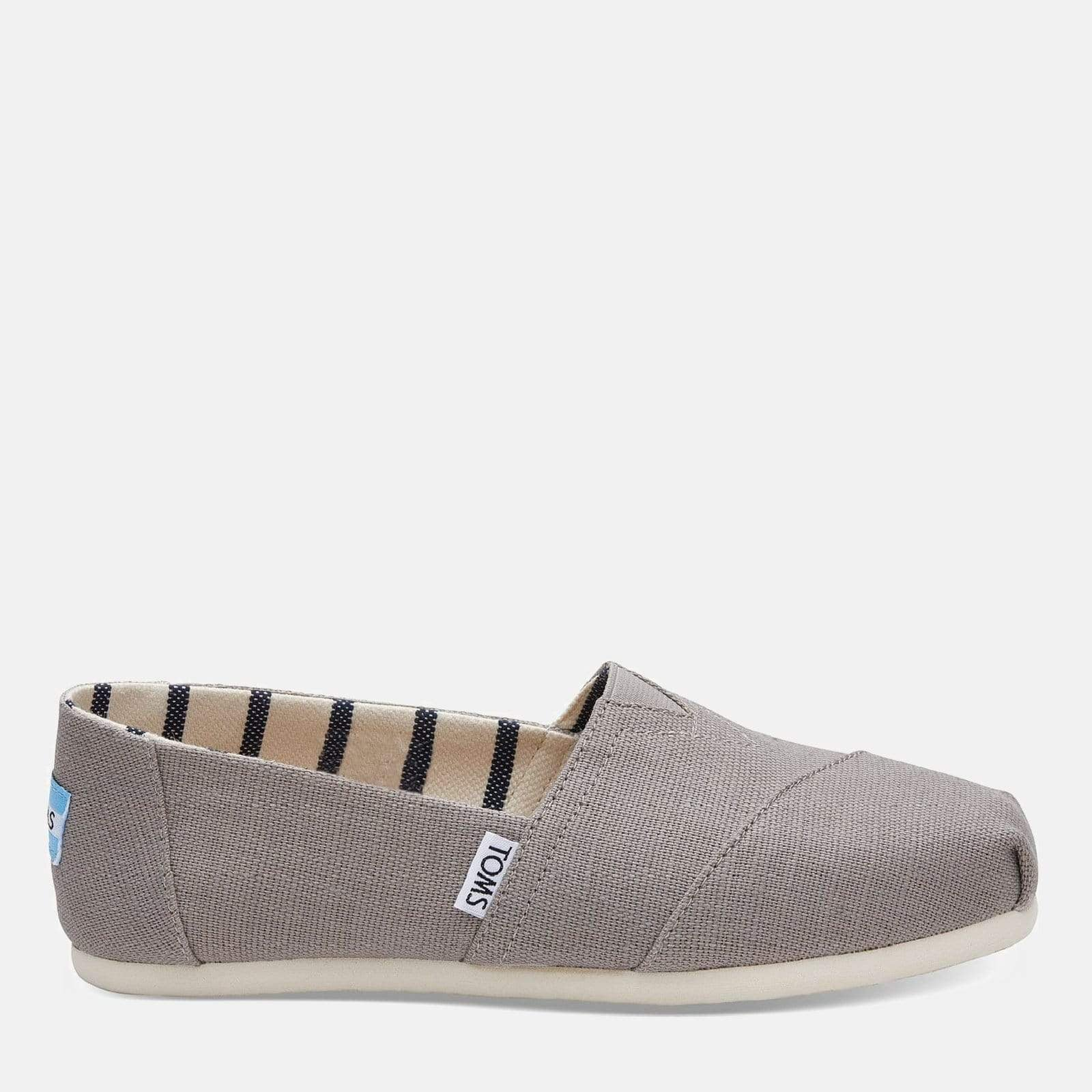 50e1d8f1867 TOMS Footwear 3L   Morning Dove Heritage Canvas Women s Alpargata  Espadrille Morning Dove Heritage Canvas