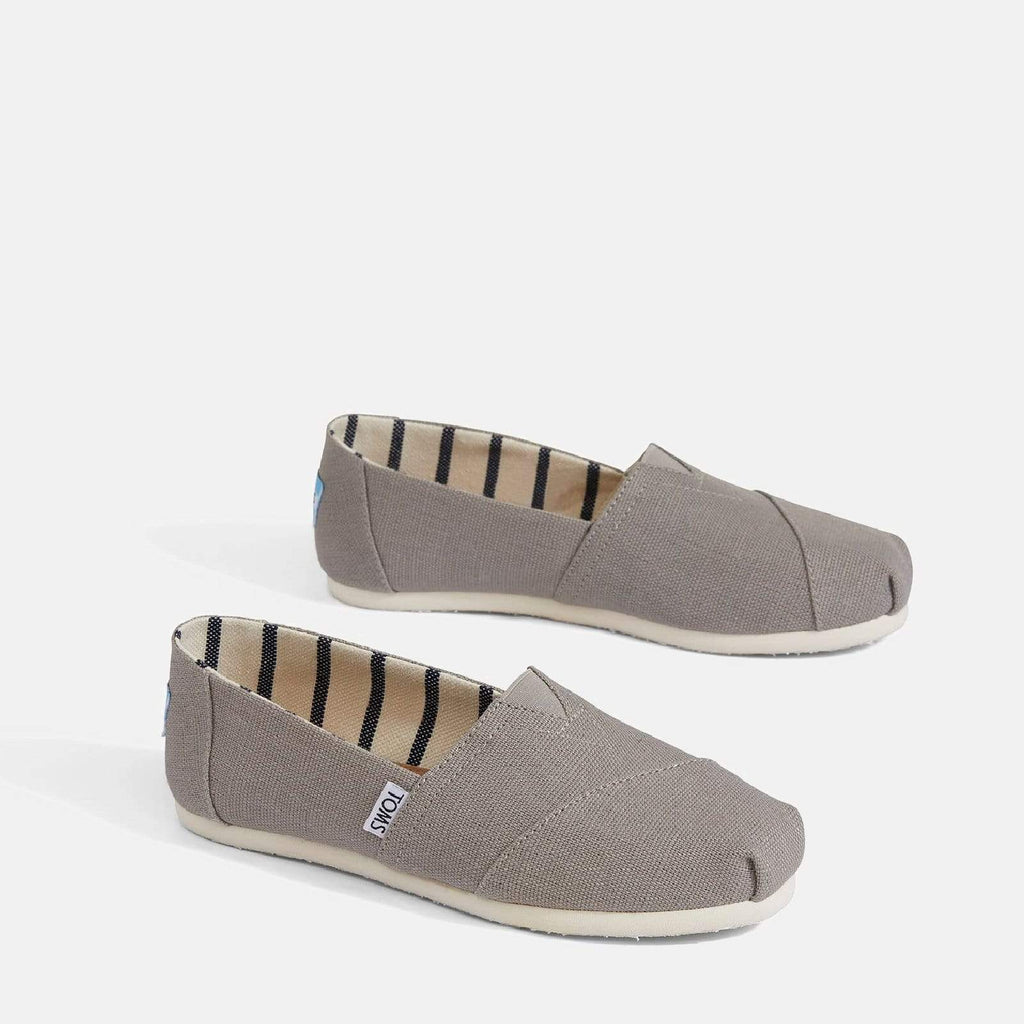 Women's Alpargata Espadrille Morning Dove Heritage Canvas
