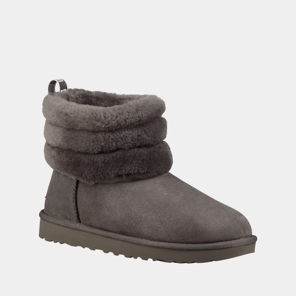 UGG Footwear Fluff Mini Quilted 1098533 Charcoal