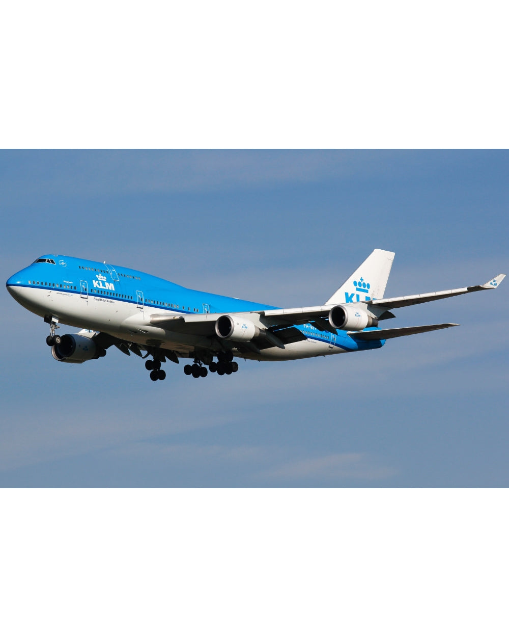 Boeing 747 - KLM - Série blanche