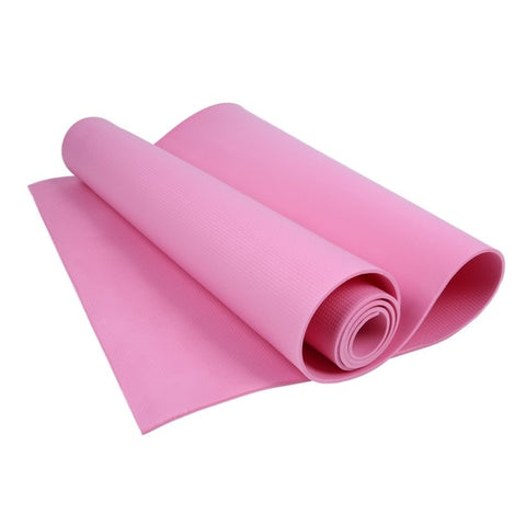 Image of High-quality pink yoga mat