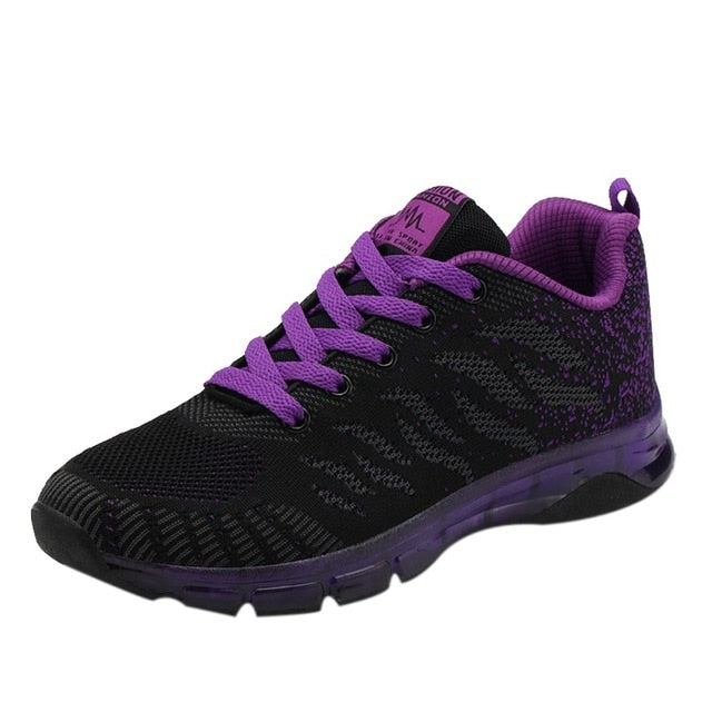 Purple running shoe variant