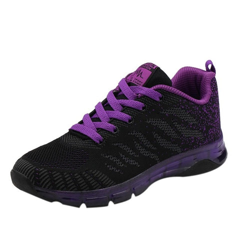 Image of Purple running shoe variant