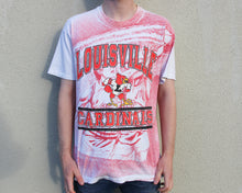 Load image into Gallery viewer, Vintage 90s Louisville Cardinals Anvil T-Shirt Size Men's M/L
