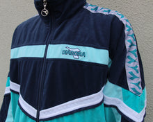Load image into Gallery viewer, Vintage Diadora Velour Track Top Size Men's S/M