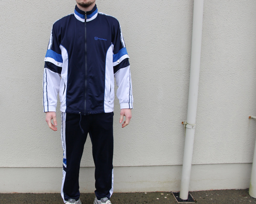 Vintage Sergio Tacchini Full Tracksuit Size Men's Medium
