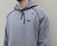 Load image into Gallery viewer, Vintage Fila Hoodie Size Men's M/L