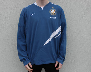 Nike Inter Milan Longsleeve T-Shirt Size Men's Large