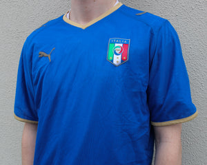 Puma Italy Home Shirt 2007/08 Size Men's Medium