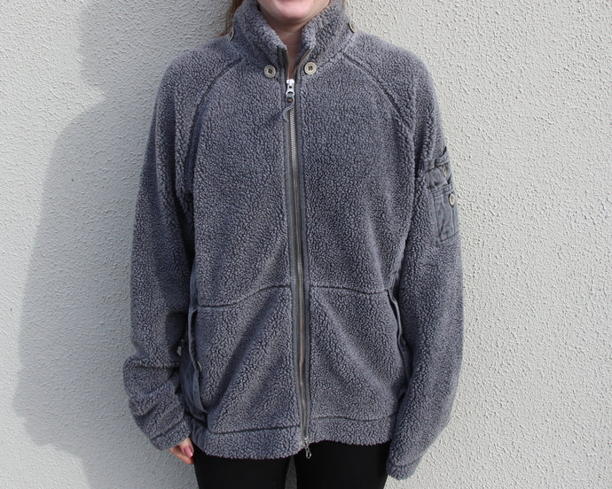 Vintage Sherpa Fleece Size Women's Medium