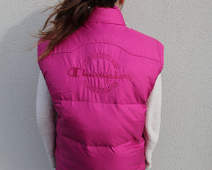 Vintage Champion Gilet Size Women's M/L or Men's S/M