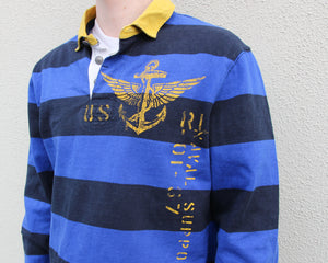 Vintage Ralph Lauren Longsleeve Polo Size Men's Medium