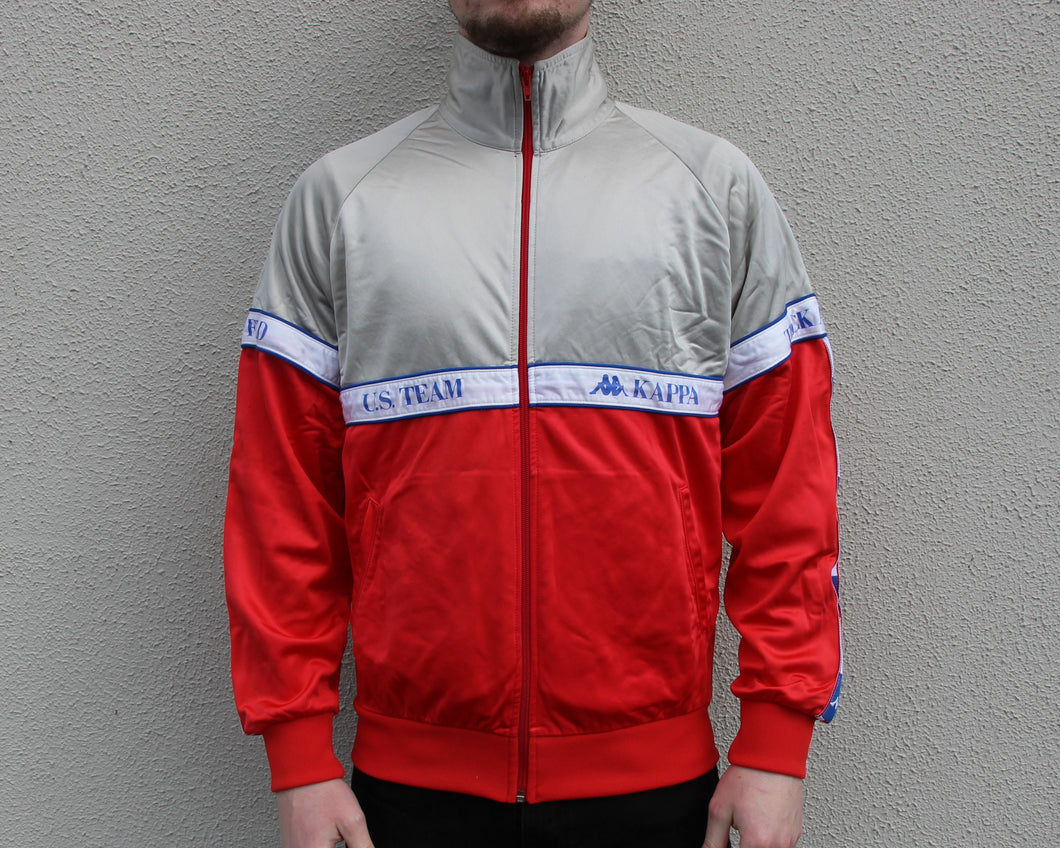 Vintage Kappa Track Top Size Men's Small