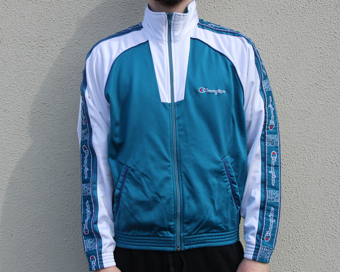 Vintage Champion Track Top Size Men's Small