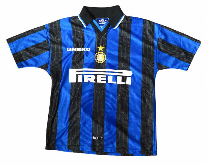 Umbro Inter Milan Shirt 1997/98 Ronaldo 10 Size Men's S/M