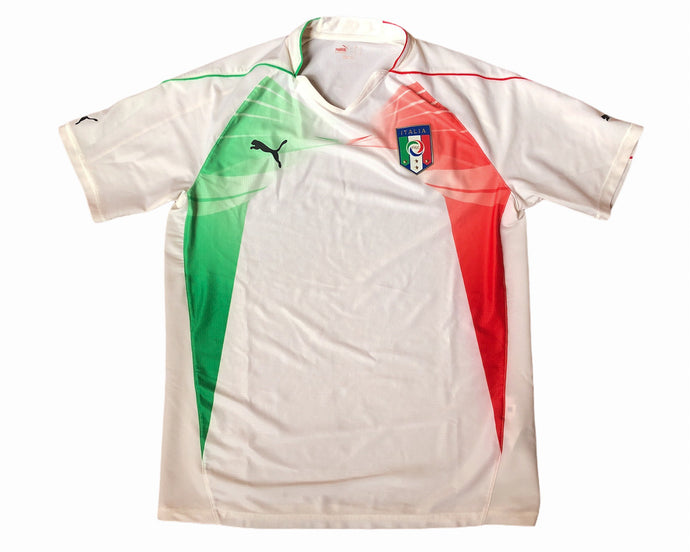 Puma Italy Football Shirt Size Large
