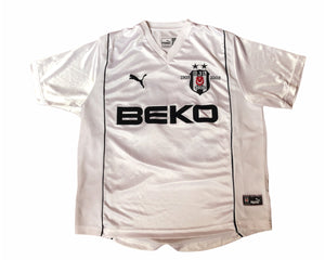 Puma Besiktas 2002/2003 Centenary Shirt Size Men's Large