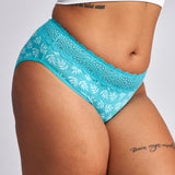 Sensual Hi-Waist Bikini Heavy/Overnight Absorbency