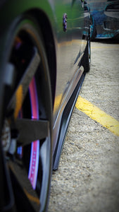 2012+ UP Dodge Charger Carbonfiber Side Skirts