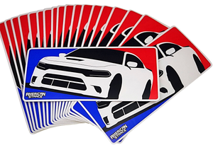 American Muscle Club Stickers- Camaro, Challenger, Charger, Mustang