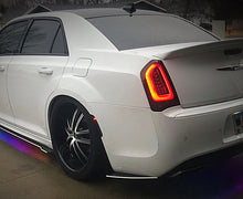 Load image into Gallery viewer, 2012+ UP Chrysler 300 Carbonfiber Rear Side Skirts