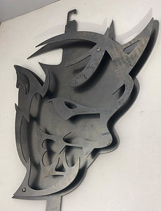 3D Dodge Demon Hood Prop & Garage Art
