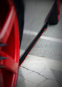 2012+ UP Dodge Challenger Carbonfiber Side Skirts