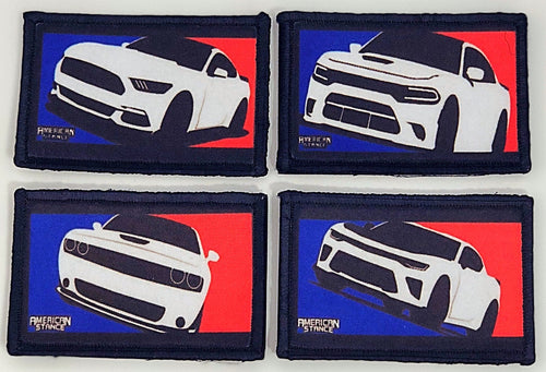 American Muscle Club, Hook & Loop Patches