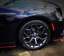 Load image into Gallery viewer, 2012+ UP Chrysler 300 Carbonfiber Side Skirts