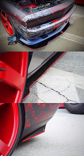 Front Splitter, Side Skirts, Rear Side Skirts
