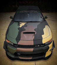 Load image into Gallery viewer, Copy of 2012+ UP Dodge Charger Carbonfiber V2 Front Splitter