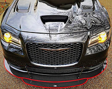 Load image into Gallery viewer, 2012+ Up Chrysler 300 2 & 3 Layer Carbonfiber Splitter