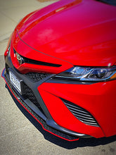 Load image into Gallery viewer, 2018+ UP Toyota Camry Carbonfiber Front Splitter Extension