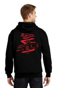 Dodge Charger Super Plush Fleece Hoodie