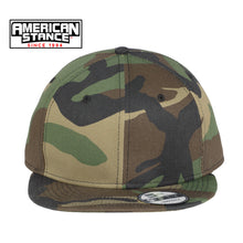Load image into Gallery viewer, New Era Camo Hook & Loop Flatbill Snapback