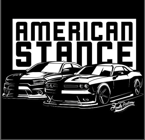 American Stance Challenger Charger Tees