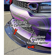 Load image into Gallery viewer, 2012+ Up Dodge Charger 2 & 3 Layer Carbonfiber Splitter