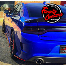 Load image into Gallery viewer, 2012+ UP Dodge Charger Carbonfiber Rear Side Skirts