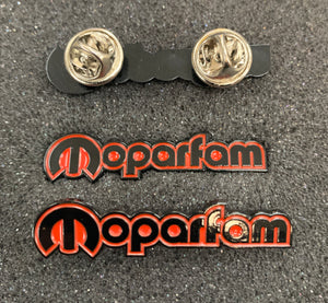 Moparfam Custom Lapel Pins