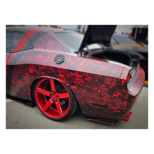 Load image into Gallery viewer, 2012+ UP Dodge Challenger V2 Aluminum Rear Side Skirts
