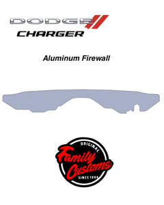 2015+ Up Dodge Charger Carbonfiber & Aluminum Firewall