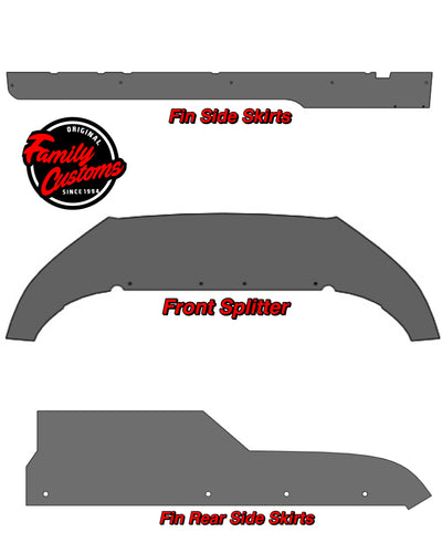 2010-2014 Ford Mustang 5 Piece V2 Bodykit