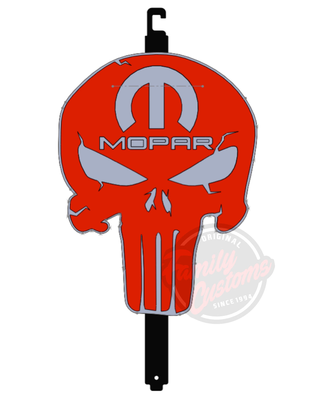 Punisher/ Mopar Punisher Hood Props & Garage Art
