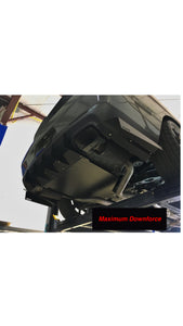 "2015-20 Dodge Challenger Rear Diffuser Customizable ""Chassis Mounted"""