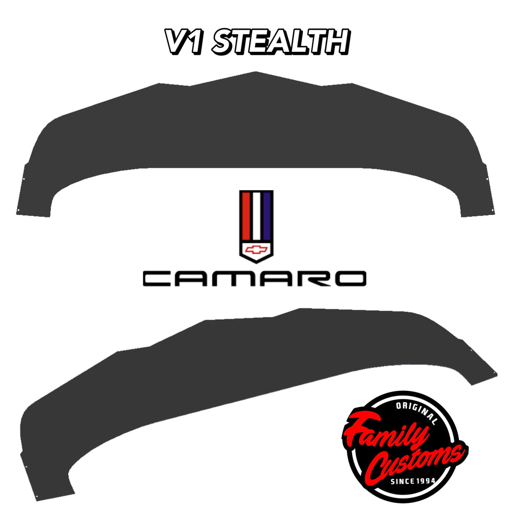 2014+ Chevy Camaro Carbonfiber Stealth Splitter