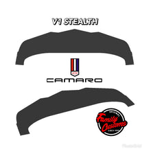 Load image into Gallery viewer, 2014+ UP Chevy Camaro V2 Stealth Aluminum Splitter