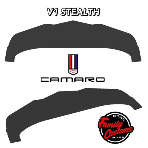 2014+ UP Chevy Camaro V2 Stealth Aluminum Splitter
