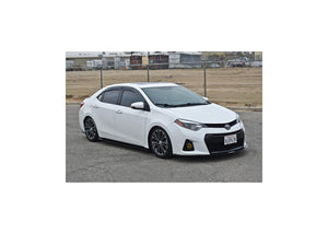Toyota Corolla 2014-2018 (Gen 11) Chassis Mounted Front Splitter