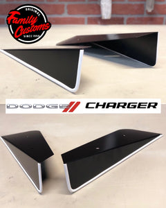 2012+ UP Dodge Charger V2 Aluminum Rear Side Skirts