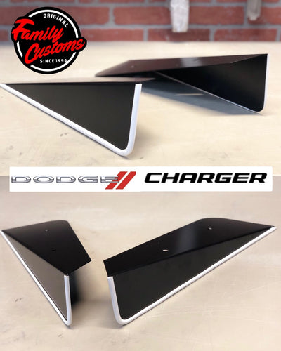 2012+ UP Chrysler 300 V2 Aluminum Rear Side Skirts